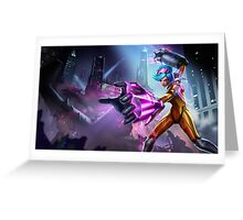 Vi League of Legends Lol Greeting Card
