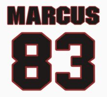NFL Player Marcus Lucas eightythree 83 by imsport