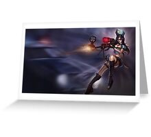 Lol League of Legends Caitlyn  Greeting Card