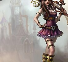LOL League of Legends Caitlyn by gleviosah