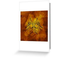 Majora's Mask Lines Greeting Card