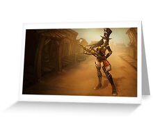 Caitlyn Hero Lol League of Legends Greeting Card