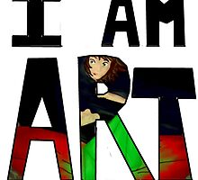 I AM ART - The Sims by aelita15