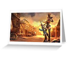 Caitlyn Sheriff Lol League of Legends Greeting Card
