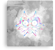 Majora's Mask Lines Color 2 Metal Print