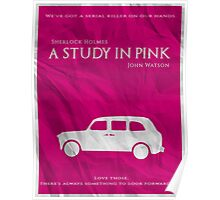 BBC Sherlock - A Study in Pink Poster