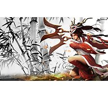 Lol Hero Akali League of Legends Photographic Print