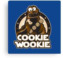 Cookie Wookie Canvas Print