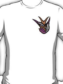 Pink swallow Logo T-Shirt