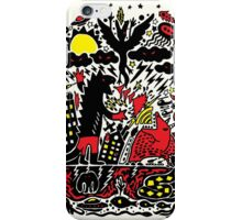 Red Black Yellow iPhone Case/Skin
