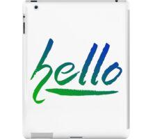 hello.. iPad Case/Skin