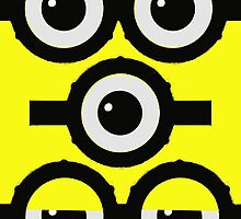 Despicable Eyes T-shirt by jimmy-rage