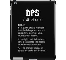 Definition of a DPS (white) iPad Case/Skin