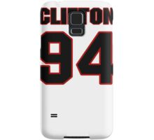 NFL Player Clifton Geathers ninetyfour 94 Samsung Galaxy Case/Skin