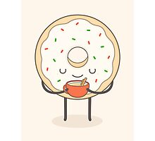 donut loves holidays Photographic Print