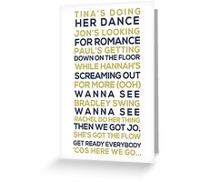 S Club Party Greeting Card