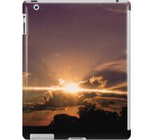 Sunset_Sun Rays  iPad Case/Skin