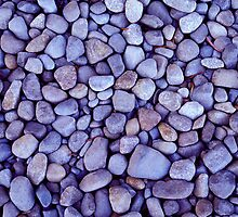Rocks - Lake St Claire - Tasmania by James Pierce