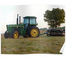 Iowa Tractor Poster