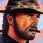 Clint Eastwood by Tim Miklos