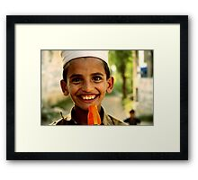 How to be a big brother Framed Print