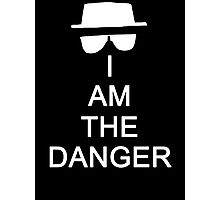 I Am The Danger Photographic Print