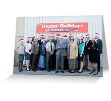 Happy Holidays from Dunder Mifflin! Greeting Card
