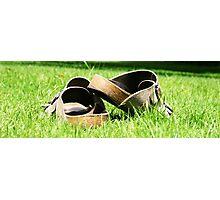 Sunbake Sandals Photographic Print
