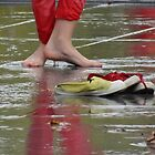 Too hot for shoes by Carol Dumousseau