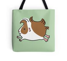 Leaping Guinea-pig ...Brown and White Tote Bag