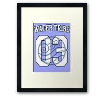 Water Tribe Jersey #03 Framed Print