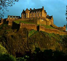 Edinburgh Castle Edinburgh Scottland by Brennen Cole