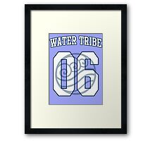 Water Tribe Jersey #06 Framed Print