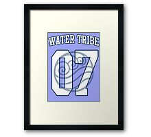 Water Tribe Jersey #07 Framed Print