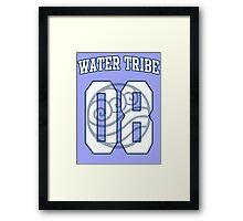 Water Tribe Jersey #08 Framed Print