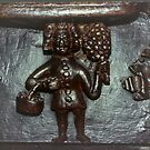 Misericord Malvern Priory Greater Malvern England 198405180081 by Fred Mitchell
