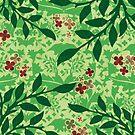 Leafy tree by Lara Allport
