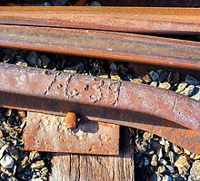 Old Mount Barker Railway Line. by Nick Griffin