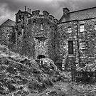 The court yard - Eilean Donan Castle by JamesA1