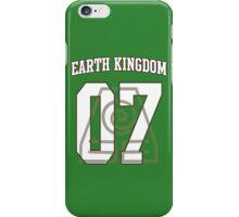 Earth Kingdom Jersey #07 iPhone Case/Skin
