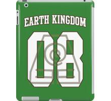 Earth Kingdom Jersey #08 iPad Case/Skin