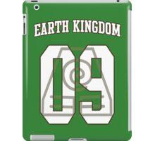 Earth Kingdom Jersey #09 iPad Case/Skin