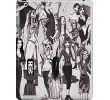Ladies of Halloween! iPad Case/Skin