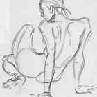 Life Drawing 1 by Brooke Hyrapiet
