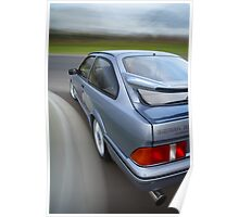 Ford Sierra RS Cosworth rig shot Poster