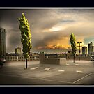 Carpark Green with Envy by Paul Vanzella