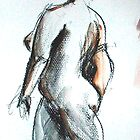 2005 Nude Female Study by Simon Collins