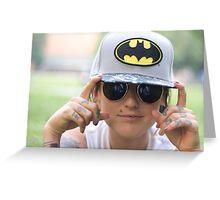 TNS Batman Cap Greeting Card