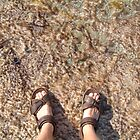 brown moss feet by Devan Foster