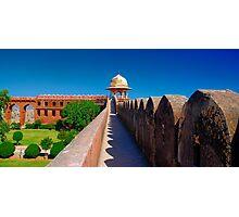 Jaigarh Courtyard Gardens + Chhatri Photographic Print